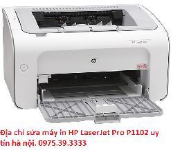 Địa chỉ sửa máy in HP LaserJet Pro P1102 uy tín hà nội