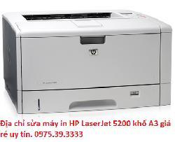 Địa chỉ sửa máy in HP LaserJet 5200 khổ A3 giá rẻ uy tín