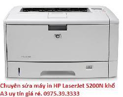 Chuyên sửa máy in HP LaserJet 5200N khổ A3 uy tín giá rẻ