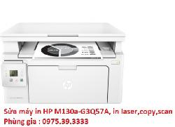 Sửa máy in HP M130a-G3Q57A, in laser,copy,scan