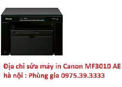 Địa chỉ sửa máy in Canon MF3010 AE tại nhà hà nội