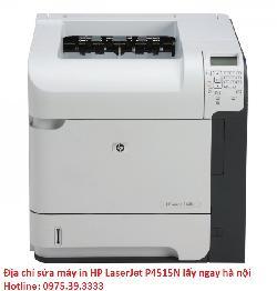 Địa chỉ sửa máy in HP LaserJet P4515N lấy ngay hà nội