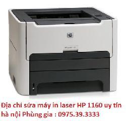 Địa chỉ sửa máy in laser HP 1160 uy tín hà nội