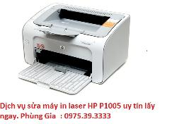 Dịch vụ sửa máy in laser HP P1005 uy tín lấy ngay
