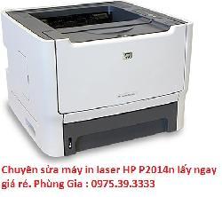 Chuyên sửa máy in laser HP P2014n lấy ngay giá rẻ