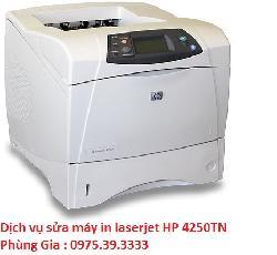 Dịch vụ sửa máy in laserjet HP 4250TN lấy ngay hà nội