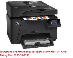 Trung tâm sửa máy in màu HP LaserJet Pro MFP M177fw uy tín hà nội