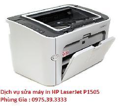 Dịch vụ sửa máy in HP LaserJet P1505 Printer uy tín giá rẻ
