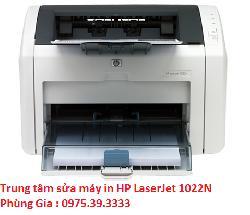 Trung tâm sửa máy in HP LaserJet 1022N giá rẻ uy tín