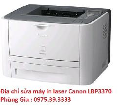 Địa chỉ sửa máy in laser Canon LBP3370 uy tín lấy ngay
