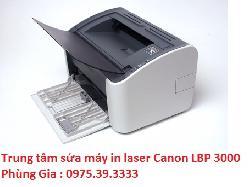 Trung tâm sửa máy in laser Canon LBP 3000 lấy ngay uy tín