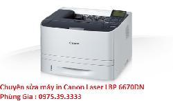 Chuyên sửa máy in Canon Laser LBP 6670DN lấy ngay hà nội