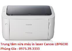 Trung tâm sửa máy in laser Canon LBP6030 giá rẻ lấy ngay